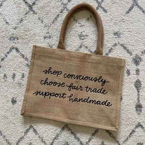 The Little Market Shop Consciously Tote